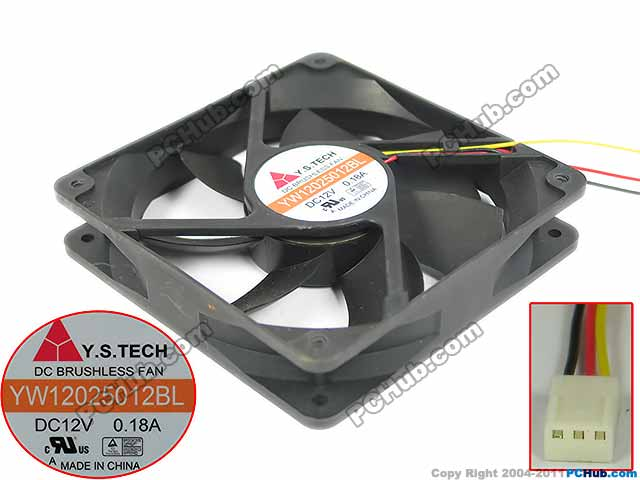 Y-S-TECH-FD249225HB-Server-Square-Fan-FD249225HB-b-129885