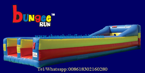 indoor playground equipment inflatable bungee font b run b font