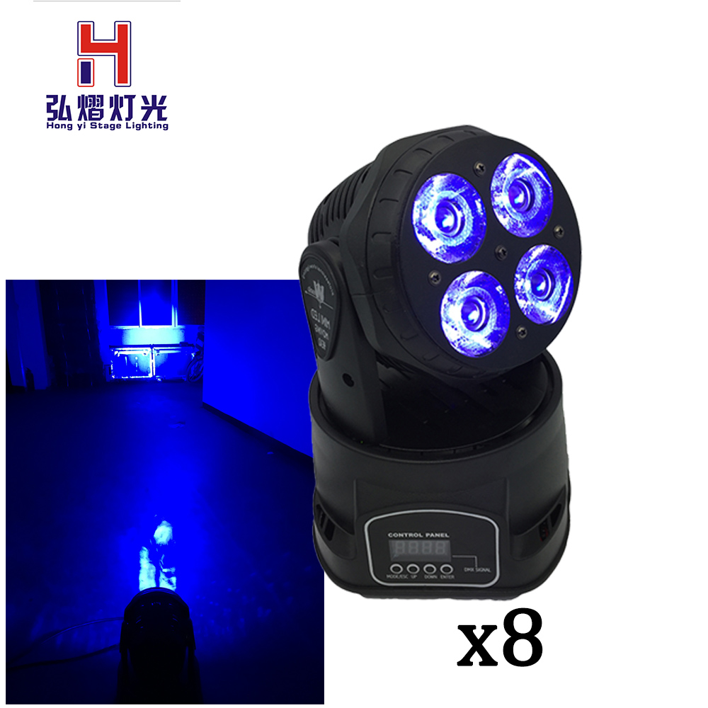 8 pieces/lot 80W Spot Light Led Moving Head Beam dj equipment DMX512 China 5 pieces lot apl5932a sop 8