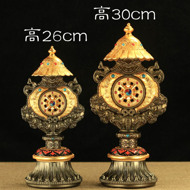 Wholesale Buddhist Supplies 30 Cm Efficacious Protection Nepal Gold