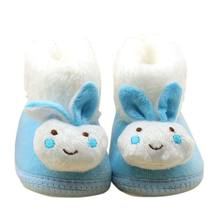 Lovely Baby Autumn Winter Super Bebe Shoes Children Snow Boots Kid Plush Warm Shoes Baby Winter Enfatnts Boots Shoes LM58(China)