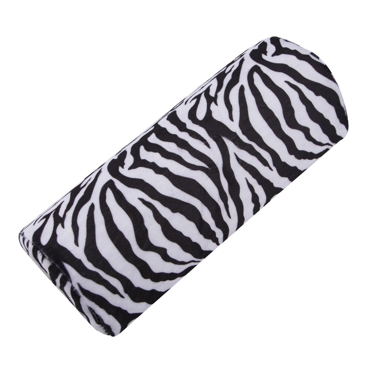 Nail Art Zebra Stripes: Nail Art Half Column Zebra Stripe Design Soft Sponge Hand
