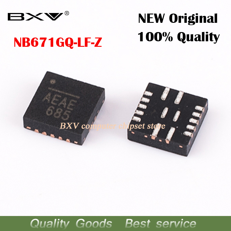 5pcs NB671GQ-Z NB671GQ NB671 (AEAD AEAE) QFN-16 New Original Free Shipping