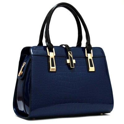 NEW fashion 2016 candy color for Crocodile women's fashion handbag tote bag  cross-body messenger bags handbag freeshipping