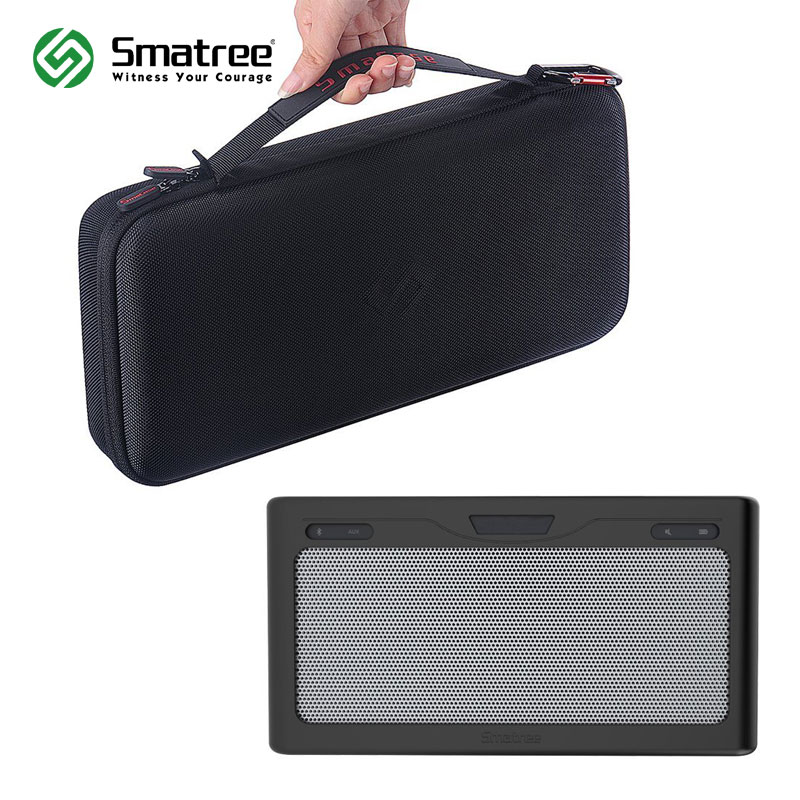 Smatree SmaCase B260 Carrying Case with Black/Grey Soft cover for Bose SoundLink Bluetooth Speaker III (Speaker is not included)