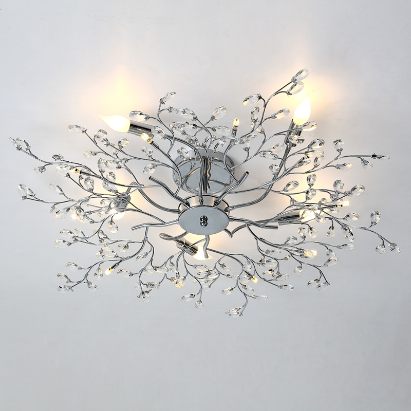 US $310.3 42% OFF|New fantasy design chandelier crystal ceiling lamps  modern lamps chandelier living room bedroom light-in Ceiling Lights from  Lights ...