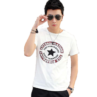 Newest Men Summer T Shirt Short Sleeve Slim O Neck Comfortable Casual Clothing Fashion Tees New