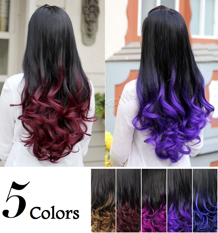 2015 ombre wig hair fall