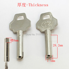 B173 дом двери пустые заготовки ключей слесарные принадлежности пустые ключи 10 шт./лот