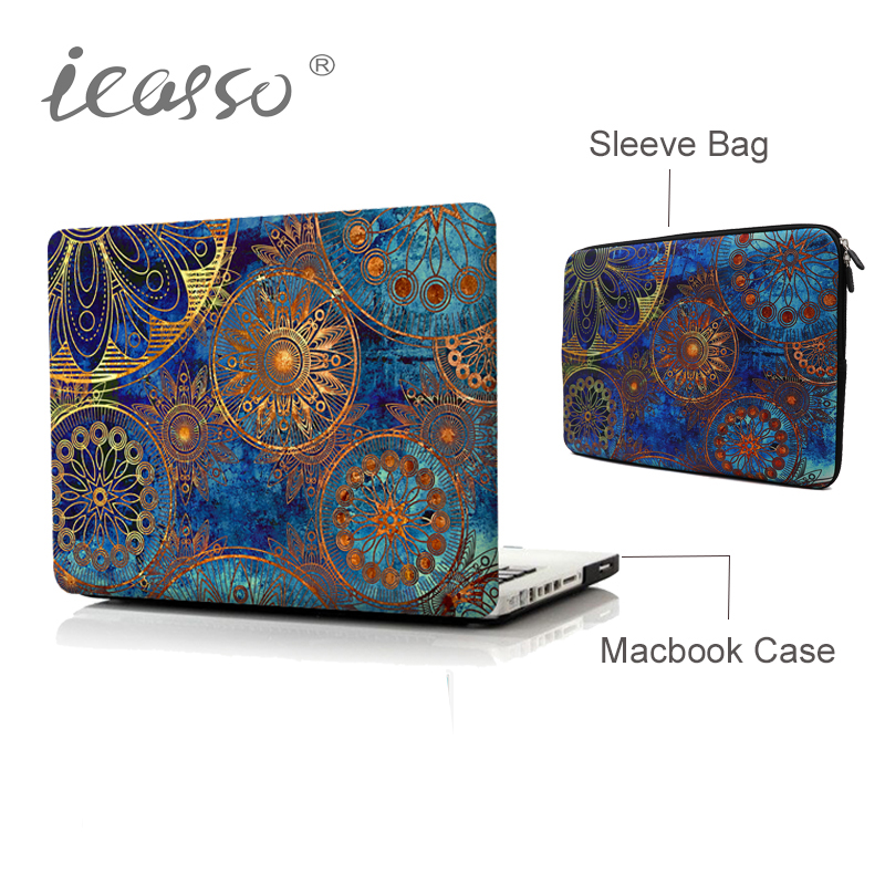 icasso Laptop Sleeve bag Case for MacBook Air 13 15 inch for APPLE MAC Pro with Retina 13.3 15 with Touch Bar laptop case bag hot pu leather sleeve case for macbook air 11 air 13 retina 13 3 inch pro 15 4 envelope bag wholesales free drop shipping
