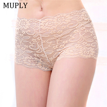 Plus Size Sexy Lace Panties Etroic Lace Lingerie Women Sexy Lace Panties Seamless Panties Briefs Underwear Transparent Knickers sexy erotic panties women sexy underwear mesh lace transparent panties embroidery lace sexy women underwear set black lingerie