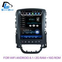 32G ПЗУ вертикальный экран android 8,1 Система Автомобильный gps мультимедийный Видео Радио плеер в тире для opel ASTRA J автомобильный navigaton стерео