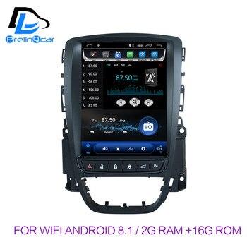 32G ROM الرأسي شاشة الروبوت 8.1 نظام سيارة gps الوسائط المتعددة فيديو راديو لاعب في اندفاعة لأوبل أسترا J سيارة navigaton ستيريو