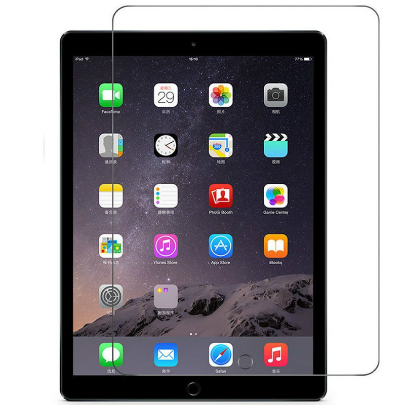 5 X 0.33mm Premium Tempered Real Glass Screen Protector Film for iPad Air1 2 USA