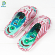 KONGDY Acupressure Points Massage Shoes 1 Pair Magnetic Reflexology Slippers Pain Relief Foot Relaxation Healthy Care Shoes