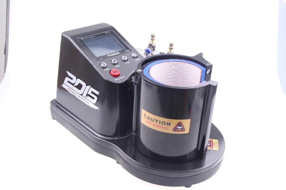 New ST-110 Pneumatic Mug Press Machine Thermal Mug Heat Press Machine Digital Mug Printer цена 2017