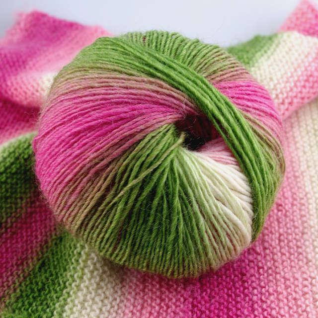 af9a7c0fb751 Online Shop 2018 New 5balls lot rainbow color hand knitting Wool ...