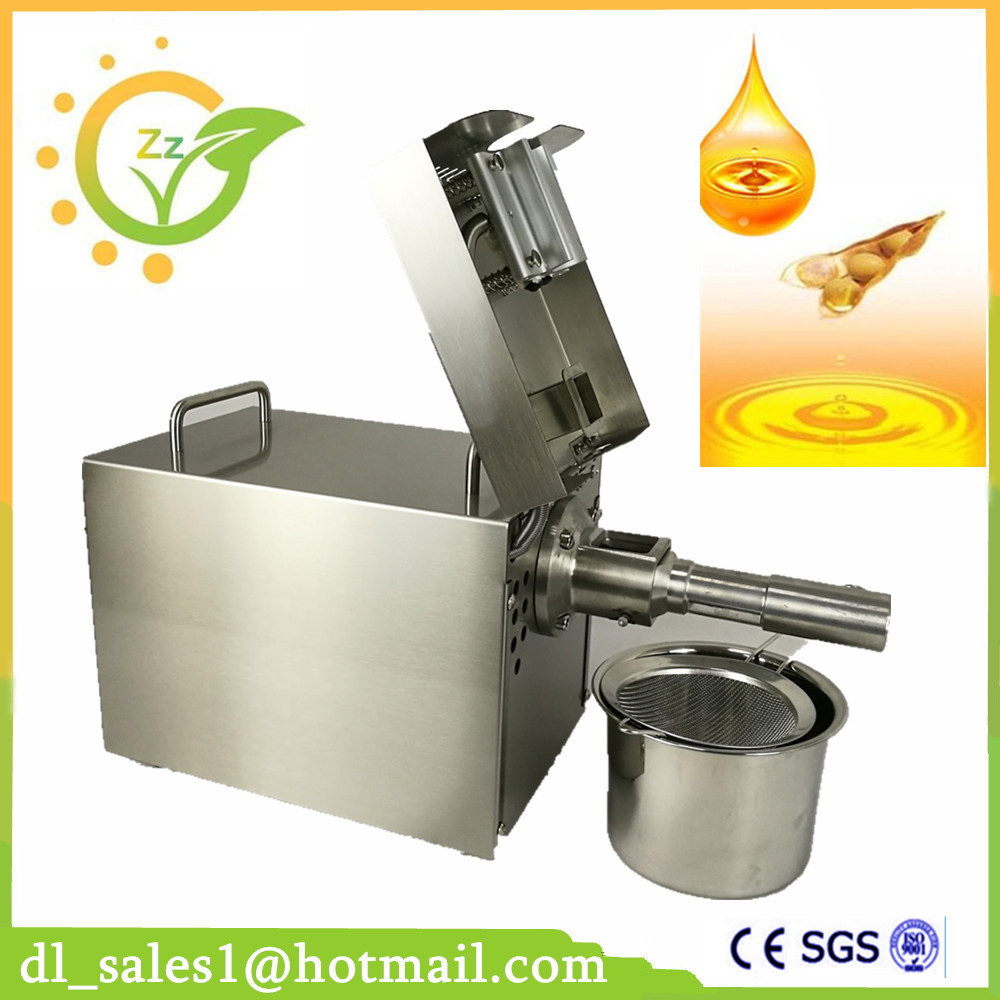 110V Or 220V Oil Press Machine Nut Seed Automatic Stainless All Steel Presser High Oil Extraction home use 110v or 220v seed oil press machine nut seed automatic stainless all steel presser high oil extraction