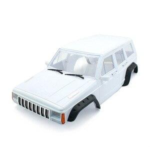 Image 2 - 1 шт. жесткий пластиковый корпус колесной базы 313 мм, корпус автомобиля для радиоуправляемого гусеничного автомобиля 1/10 Axial SCX10 и SCX10 II 90046 90047
