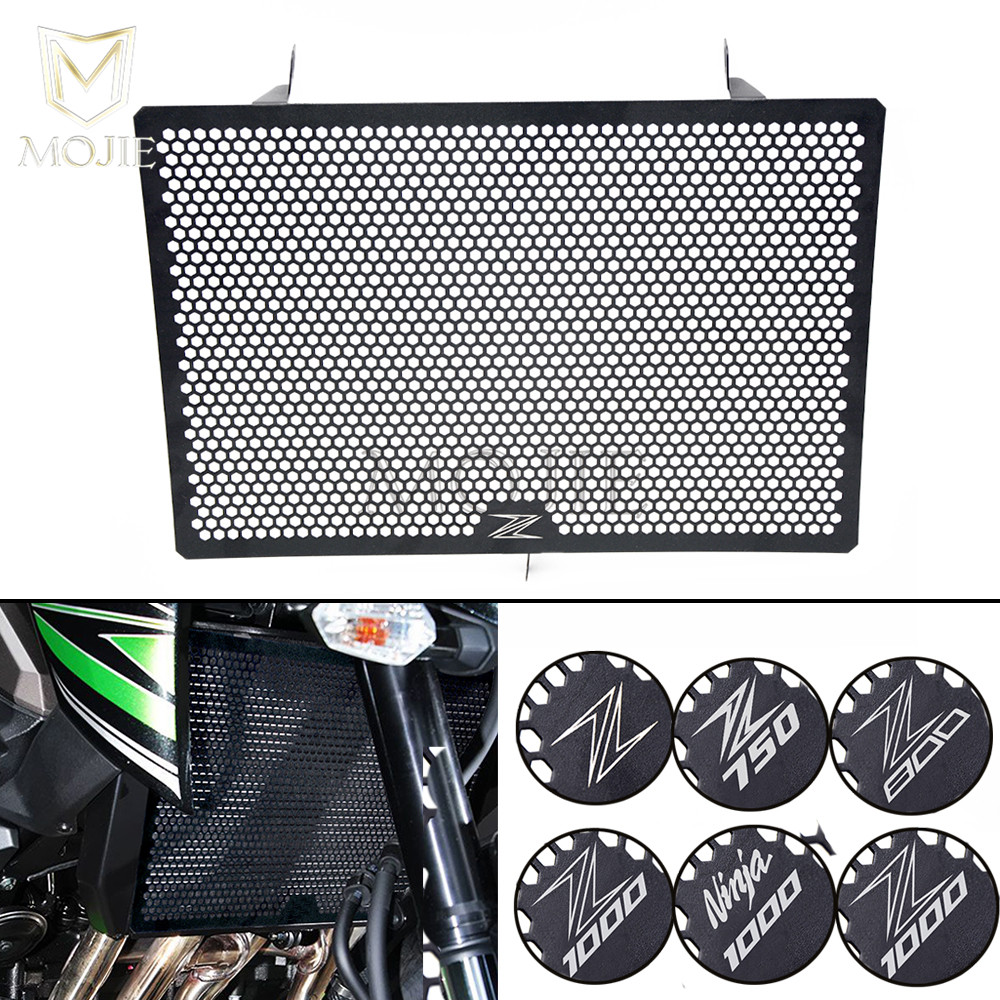 For KAWASAKI Z750 Z800 Z1000 Z1000SX NINJA 1000 Z 750 800 SX Motorcycle Accessories Radiator Guard Protector Grille Grill Cover