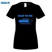 GILDAN Sommer t-shirt Schwangerschaft Lustige Paar T-Shirts Baby Lade Vater Zu Sein, Mutterschaft Baby Dusche
