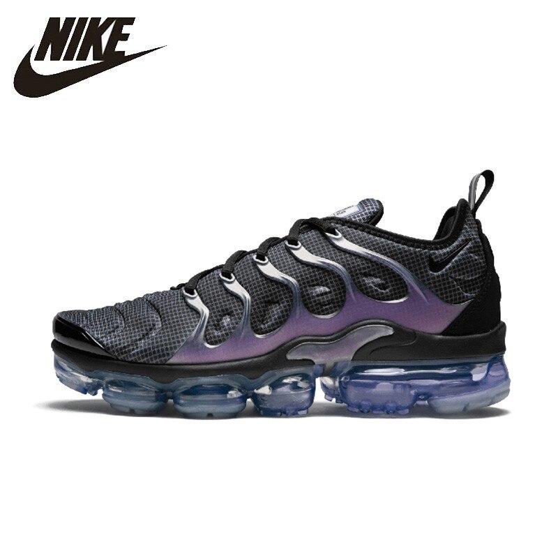 Nike Air VaporMax Plus chaussures de course pour hommes Original authentique respirant baskets de plein Air #924453-014