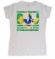 New T Shirts Unisex Funny Tops Tee Basic Models Brazilian Jiu Jitsu Ladies Youth Round Collar