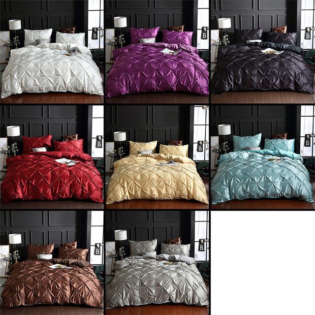 Luxury Solid Bedding Set
