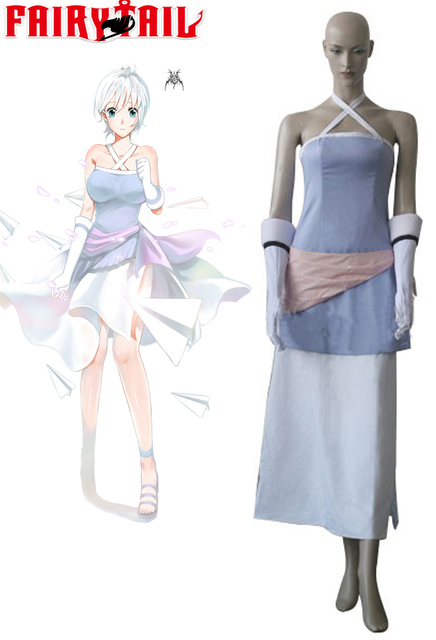 Fairy Tail Lisanna Strauss Dress Cosplay Costume Tailor Made