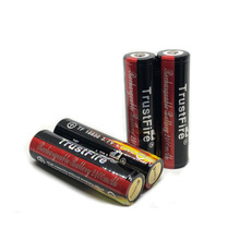 TrustFire Protected 18650 Colorful Battery 3.7V 2400mAh Camera Torch Flashlight Lithium Rechargeable Batteries with PCB