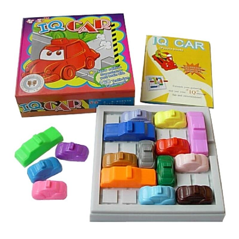 hot sale child slide puzzle mind games mobile car magic beads challenge 160 level educational toys