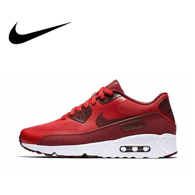 Официальный оригинальный NIKE AIR MAX 90 ULTRA 2,0 для мужчин дышащие кроссовки спортивная обувь Limited классический Спорт на открытом воздухе 2018