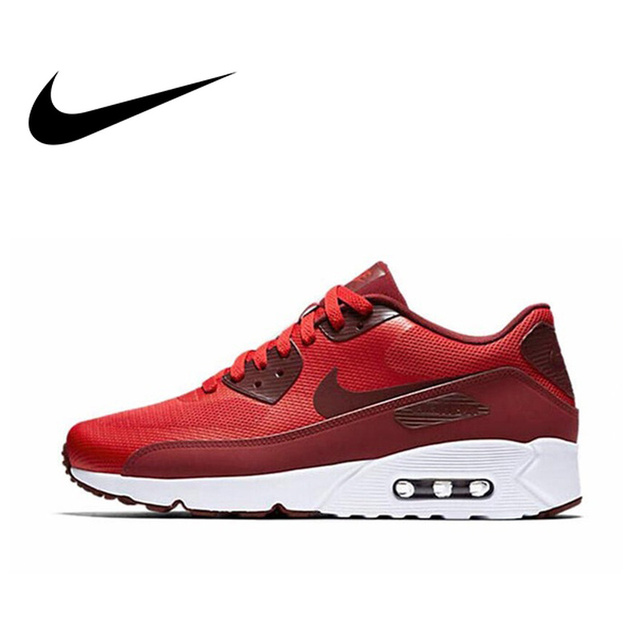 reputable site e9cd3 de591 Official Original NIKE AIR MAX 90 ULTRA 2.0 Men s Breathable Running Shoes  Sneakers Limited Classic Outdoor