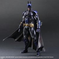 27cm Play Arts Kai Super Hero Batman blue Arkham Knight Anime Action Toy Figures Pvc Model Collection