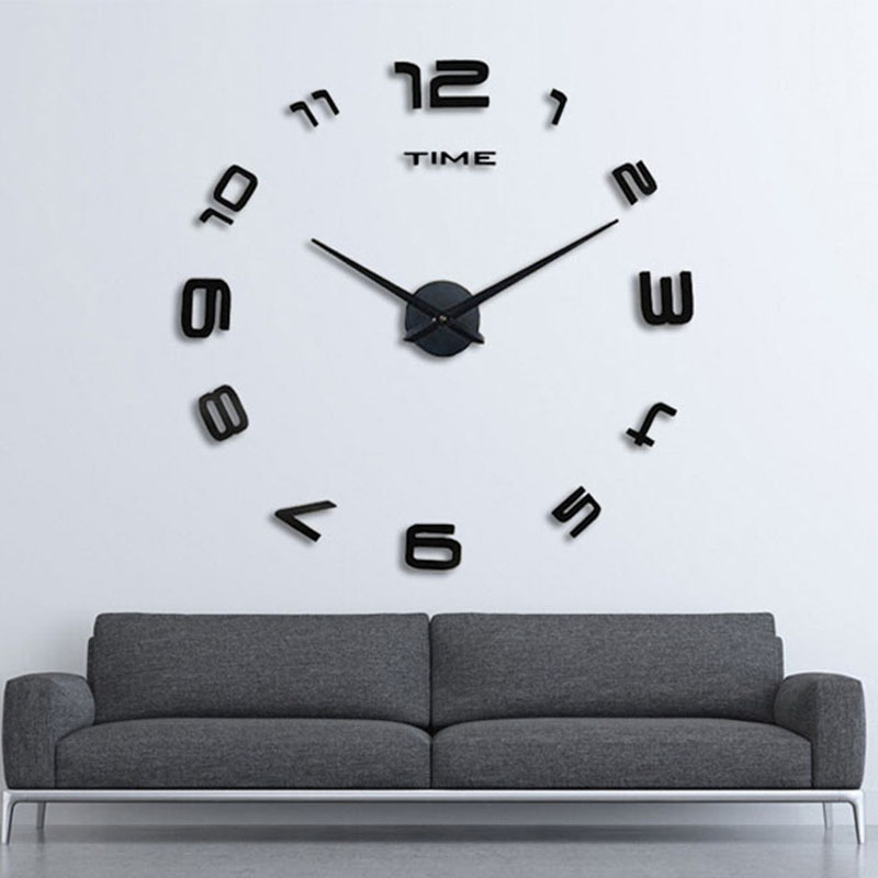 Aliexpress Com Buy Diy Home Decoration Large Watch Wall Clock Modern