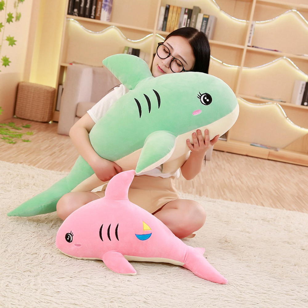 tazhin kaia - at the end of hardship comes happiness - Page 7 Ultra-Soft-Shark-Stuffed-Doll-Pink-Green-Cuddly-Sharks-Plush-Toy-Aquatic-Animal-Kids-Plushie-Gift