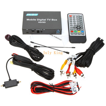 Single DVB-T Car Digital TV Receiver (HD/SD) MPEG-4, HD And Multi-format, With Burning, Standard Exchange, TimeShift Function 1