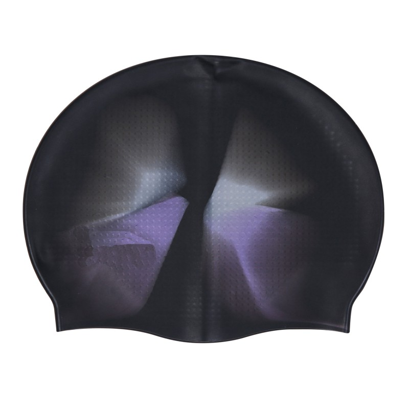 Multi-Color Adult Cooling Silicone Swimming Cap Particles Anti-Static Hair Protect Hair Sports Swim Pool Stretchable Hats