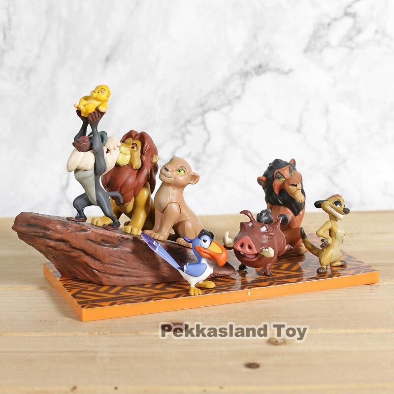 Banpresto WCF Story 07 The Lion King Simba Mufasa Pumbaa