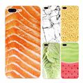 Funny Delicious Food Meat Vegetable Fruit Watermelon Matte Soft Phone Cases Cover For iPhone 5 5S SE 6 6Plus 7 7Plus Coque