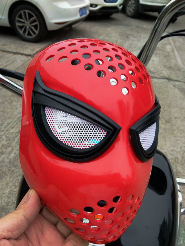 High Quality Unbreakable Homecoming Civil War Amazing Spiderman Faceshell With Lenses Cosplay Masks Gift Drop Ship
