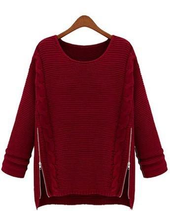 Limitado de tiempo 2014 ordenador normal de punto de la rebeca del o-cuello de las nuevas mujeres del estilo de la manga suéteres suéter tejido de punto invierno libre