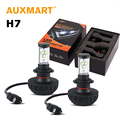 Auxmart 60W/pair H7 LED Headlight Hi-lo Beam Cree Chips LED Light Bulb Auto Headlamp 3000k 4300k 6500k 8000k 10000k DC 12V 24V