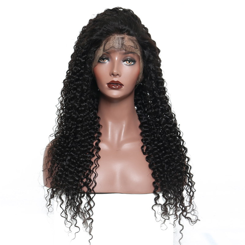 Deep Wave 13X6 Deep Part Lace Front Human Hair Wigs Pre Plucked 150% Density Natural Hair Remy Hair Venvee