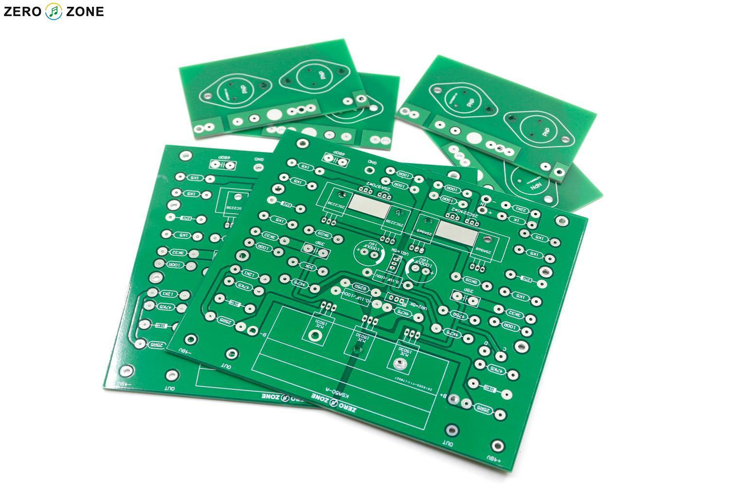 GZLOZONE 1 : 1 KRELL KSA-50MK2 Class A Power Amplifier PCB KSA50 Amp PCB DIY krell illusion