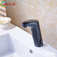 Luxury Single Handle Hot And Cold Water Sense Faucet Automatic Sensor Tap Infrared Sensor Water Saving