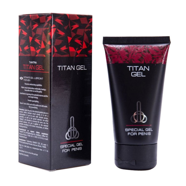 russian titan gel xxl imported external use thickening sex time