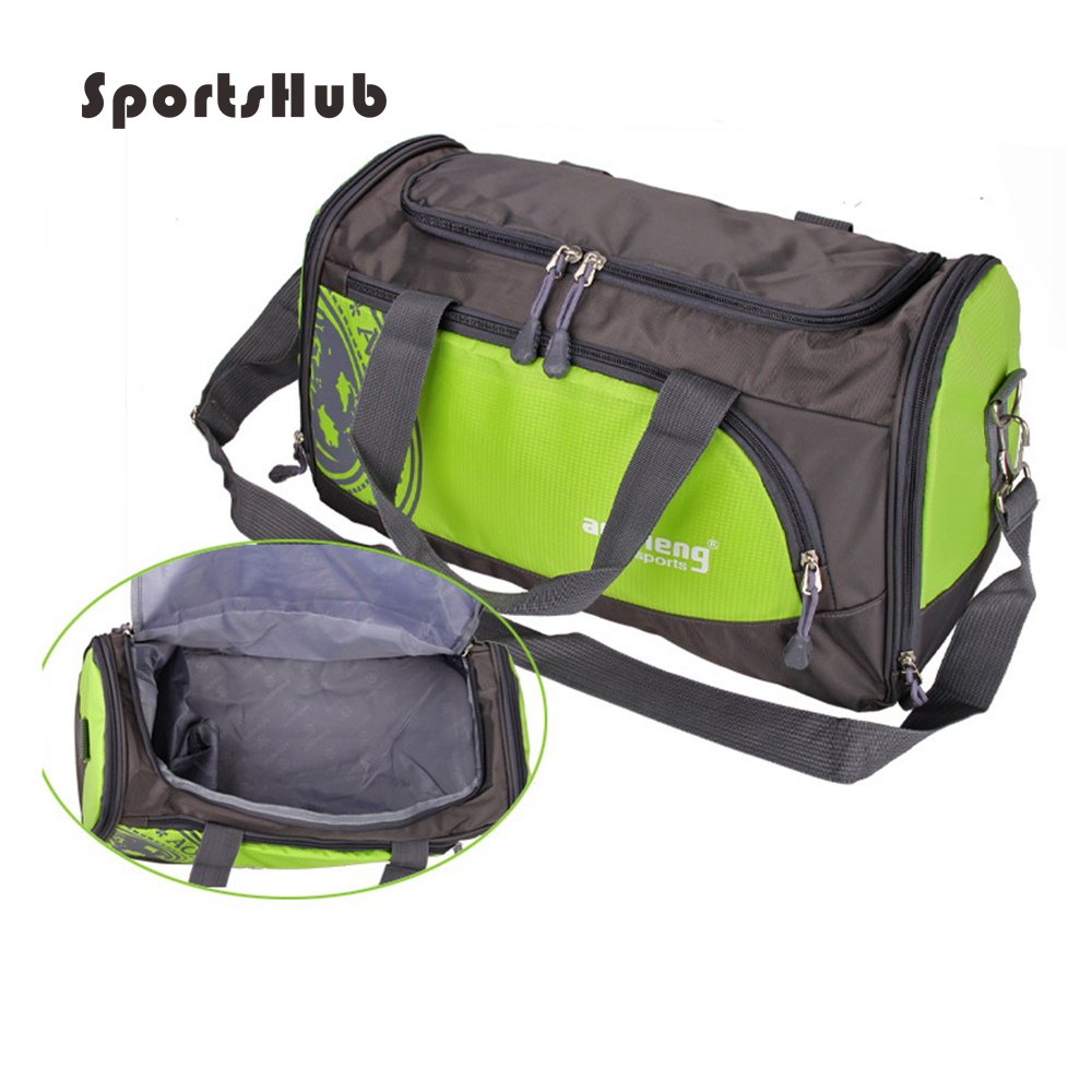SPORTSHUB Large Size Sport Bags Men Fitness Waterproof Bag Nylon Outdoor Portable Gym Training Bag SB0012