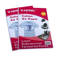 A4 Size T shirt cotton made sublimation transfer paper inkjet printer paper
