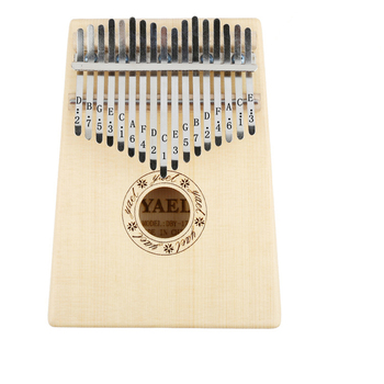 High Quality 17 Key Kalimba Spruce Only Top Solid Thumb Piano Mbira Natural Keyboard Finger Percussion music Instrument